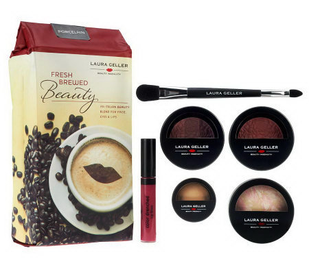 Laura Geller 5pc Fresh Brewed Beauty Baked