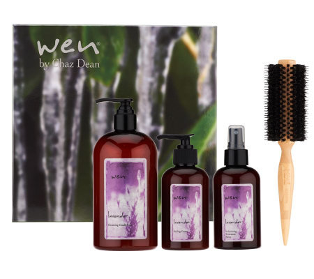 wen by chaz dean 4 piece styling t set page 1 qvc