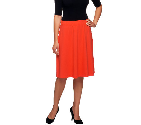 Liz Claiborne New York Essentials A-Line Knit Skirt