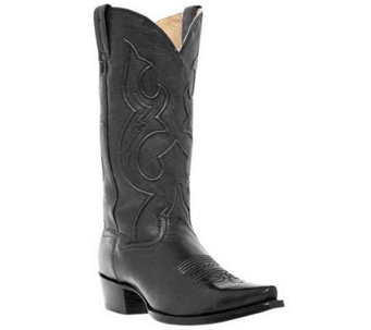 "Dan Post Boots Men's 13"" Saddle Brand Snip ToeCowboy Boots - A245434"