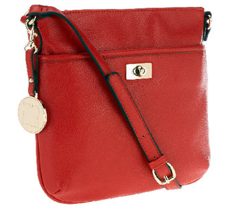 Liz Claiborne New York Zip Top Crossbody with Turnlock - A251534
