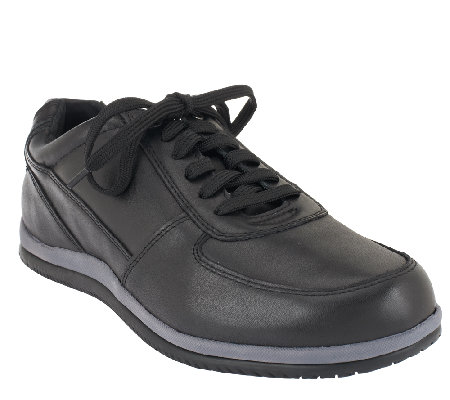 Vionic Men's Orthotic Leather Casual Sneakers - Branxton