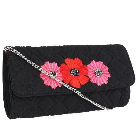 Vera Bradley Microfiber Celebration Clutch