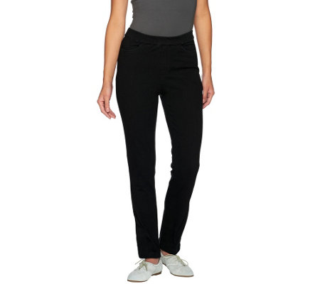 Liz Claiborne New York Petite Jackie Knit Denim