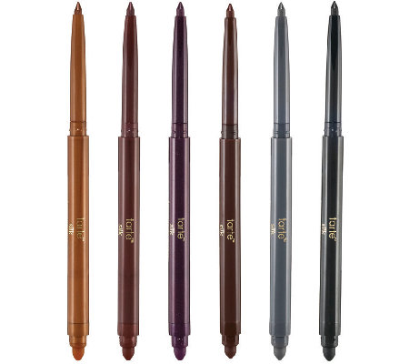 tarte Top of the Line 6pc Silk Amazonian Clay Eyeliner Set