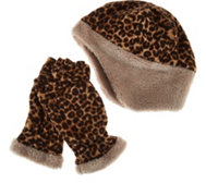 Reversible Hat and Multi-Mitt Gloves Gift Set by Sprigs