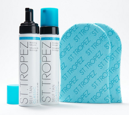 how to put on st tropez mousse