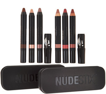 NUDESTIX Eye & Lip 6-piece Collection - A284134