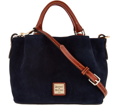 Dooney & Bourke Suede Mini Barlow Handbag