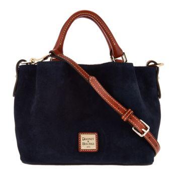 Dooney & Bourke Suede Mini Barlow Handbag