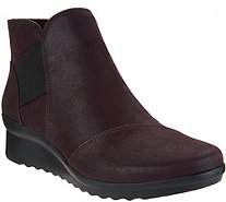 CLOUDSTEPPERS by Clarks Wedge Ankle Boots - Caddell Tropic - A296634