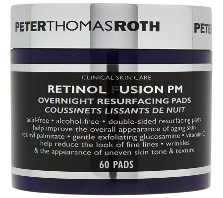 Peter Thomas Roth Overnight Resurfacing Pads 60 Count