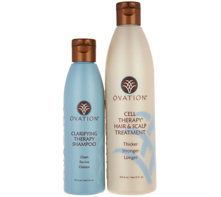 Ovation Cell Therapy & Clarifying Shampoo Duo