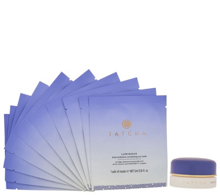 TATCHA Ageless Eye Cream & Set of 10 Eye Masks