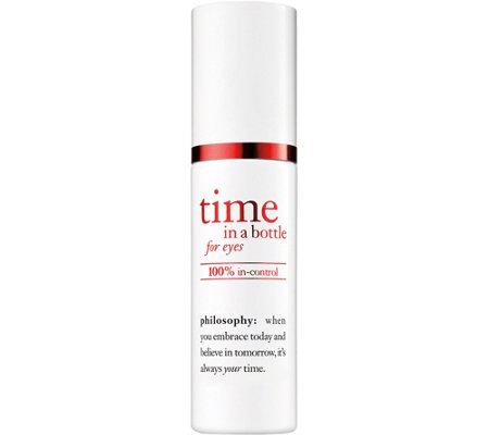 philosophy time in a bottle serum for eyes, 0.5oz