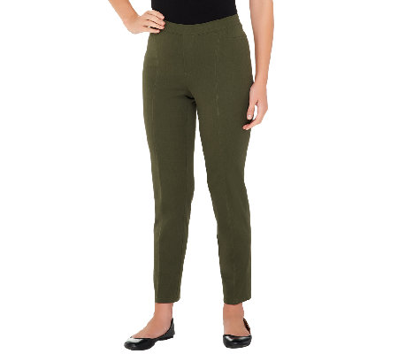 Isaac Mizrahi Live! Regular 24/7 Stretch Ankle Pants