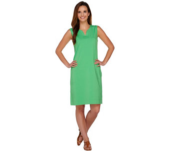 Denim & Co. Beach Perfect Jersey Sleeveless Cover-up - A254235