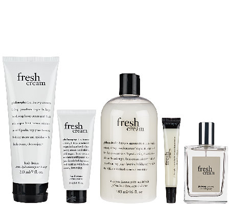 philosophy fresh cream 5-piece collection