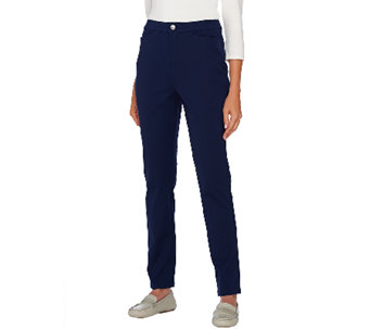 Liz Claiborne New York Bi-Stretch Ankle Pants - A267335