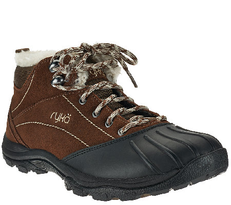 Ryka Water Resistant Faux Fur Boots - Tangent
