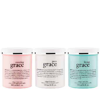 philosophy trio of grace whipped body cremes Auto-Delivery - A272335