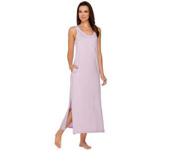 AnyBody Loungewear Cozy Knit Maxi Dress - A275835