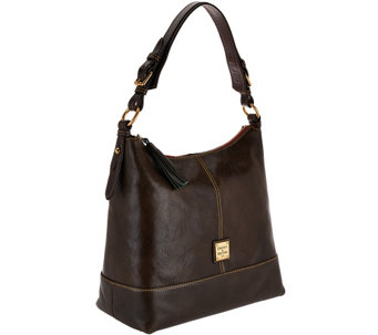 """As Is"" Dooney & Bourke Toledo Leather Sophie Hobo - A276535"