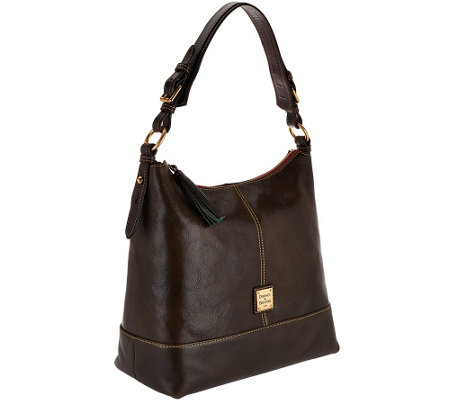 """As Is"" Dooney & Bourke Toledo Leather Sophie Hobo"