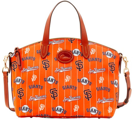 Dooney & Bourke MLB Nylon Giants Small Satchel