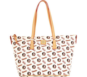 Dooney & Bourke NCAA Florida State University Zip Top Shopper - A283235