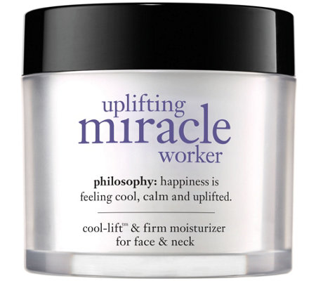 philosophy uplifting miracle worker face & neck moisturizer