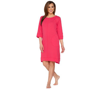 """As Is"" Carole Hochman French Terry Lounge Dress - A291035"