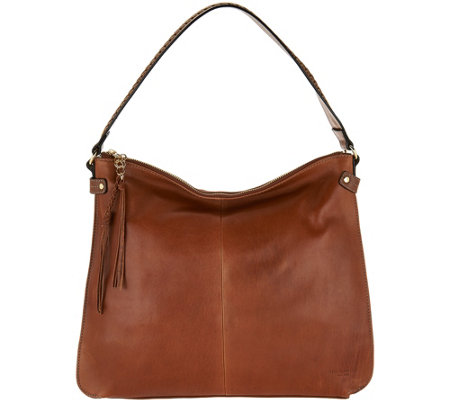 """As Is"" Tignanello Vintage Leather Hobo"