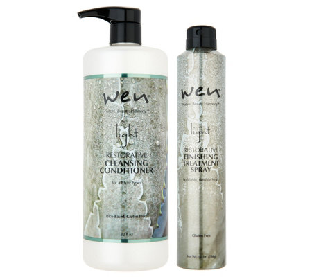 WEN by Chaz Dean Absolute Light Cleanse and Finish Kit
