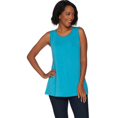 H by Halston Essentials Crew Neck Knit Tank