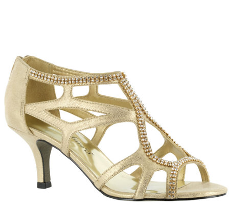 Easy Street Strappy Evening Sandals - Flattery
