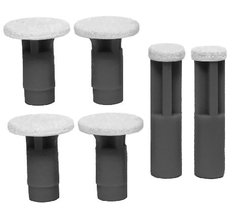 PMD 6-Pack Replacement Disc Set - Black Coarse