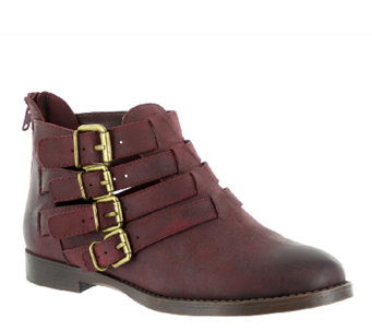 Bella Vita Leather Ankle Boots - Ronan - A337535