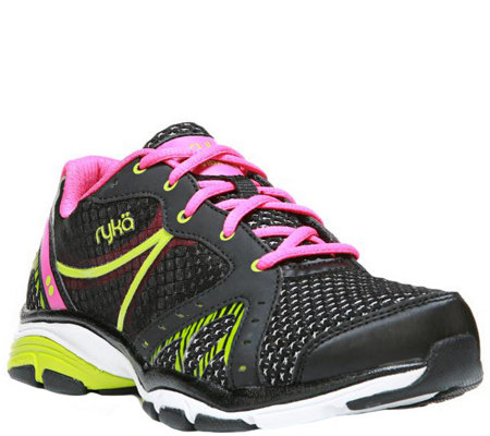 Ryka Lace-up Training Sneakers - Vida RZX