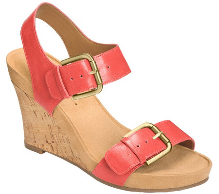 Aerosoles Wedge Sandals - Mega Plush