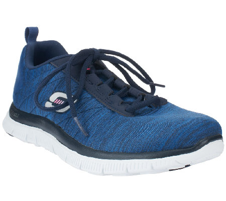 Skechers Lace-up Sneakers w/ Memory Foam - Next Generation