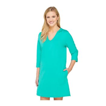 Denim & Co. Beach Perfect Jersey Pull-Over Cover Up