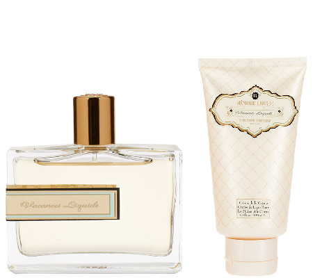 Memoire Liquide Fine Fragrance Vacanes EDP and lotion duo