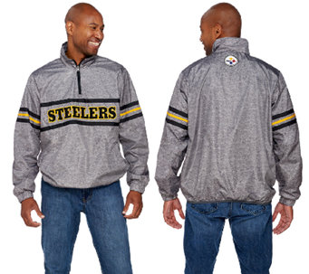 NFL Quarter Zip Lightweight Pullover Jacket - A268236