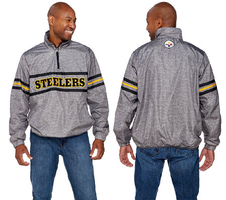 NFL Quarter Zip Lightweight Pullover Jacket