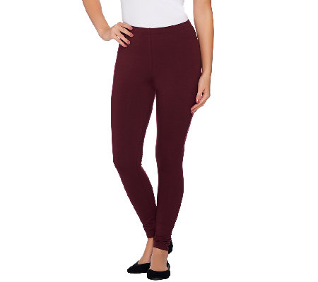 Women with Control Regular Pull-On Tushy Lifter Knit Leggings
