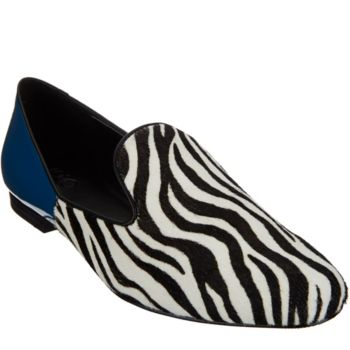 LOGO by Lori Goldstein Two-Toned Slip-On Loafers