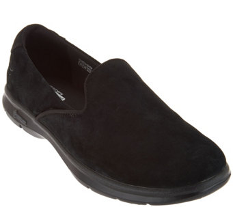Skechers Go Step Suede Slip-on Sneakers - Cheery - A281236