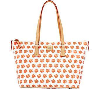 Dooney & Bourke NCAA Clemson University Zip Top Shopper - A283236