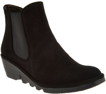 FLY London Suede Chelsea Boots - Phil - A287936